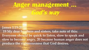 Anger Management – God's Way