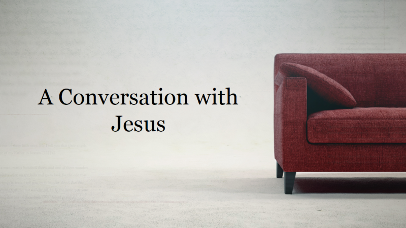 A Conversation with Jesus: Racism